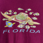 Load image into Gallery viewer, Y2K Florida Turtle & Fish Souvenir T-Shirt