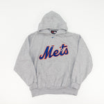 Load image into Gallery viewer, Y2K NIKE Center Swoosh New York Mets Hoodie