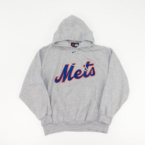Y2K NIKE Center Swoosh New York Mets Hoodie