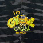 Load image into Gallery viewer, VNTG x Im Ghoul & Casual For MDA T-Shirt