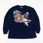 Load image into Gallery viewer, 1996 Peter Kull Mountain Lion Long Sleeve T-Shirt