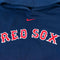 Nike Red Sox Center Swoosh Hoodie Sweatshirt