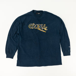 Y2K O'Neill Spell Out Distressed Long Sleeve T-Shirt
