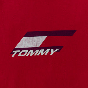 Y2K Tommy Hilfiger Flag Spell Out T-Shirt