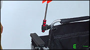 Using Accessories - Flag with Clamp