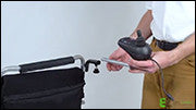 Using Accessories - Caregiver Joystick Mount (Newer Production Deluxe Models)