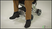 Standard Model - First & Second Generation - Raising and Lowering Foot Rest with Foot