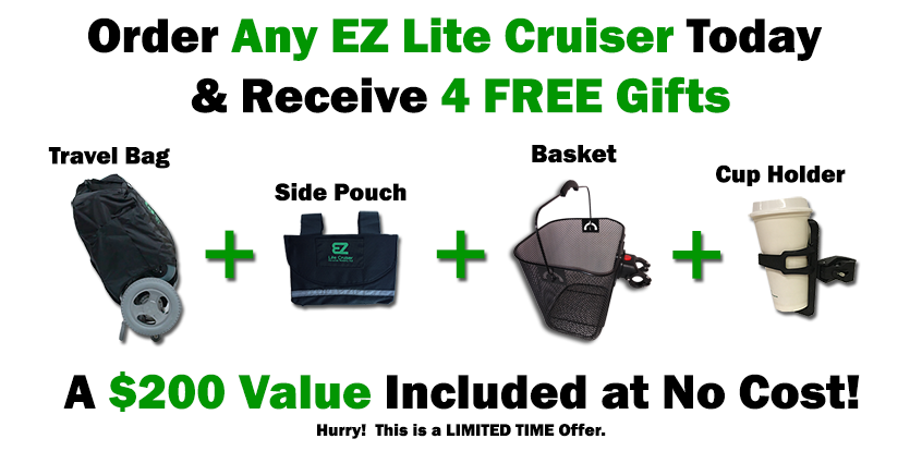 Get 4 Free Gifts With Your Order
