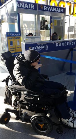 Ryan Air Electric Wheelchair