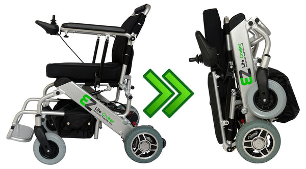 Lightest Power Wheelchair by EZ Lite Cruiser