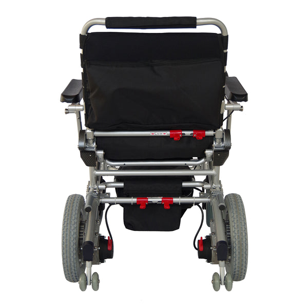 Portable Motorized Wheelchair by EZ Lite Cruiser Wide WX12 Model