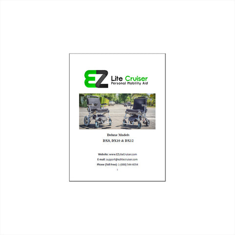 EZ Lite Cruiser User Manual