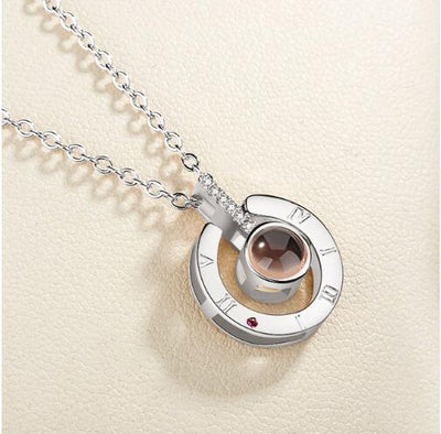 I love you Projection Pendant - lytebright