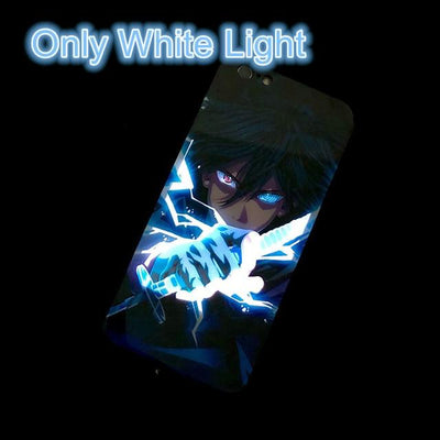 Iphone anime and MCU light up case - lytebright
