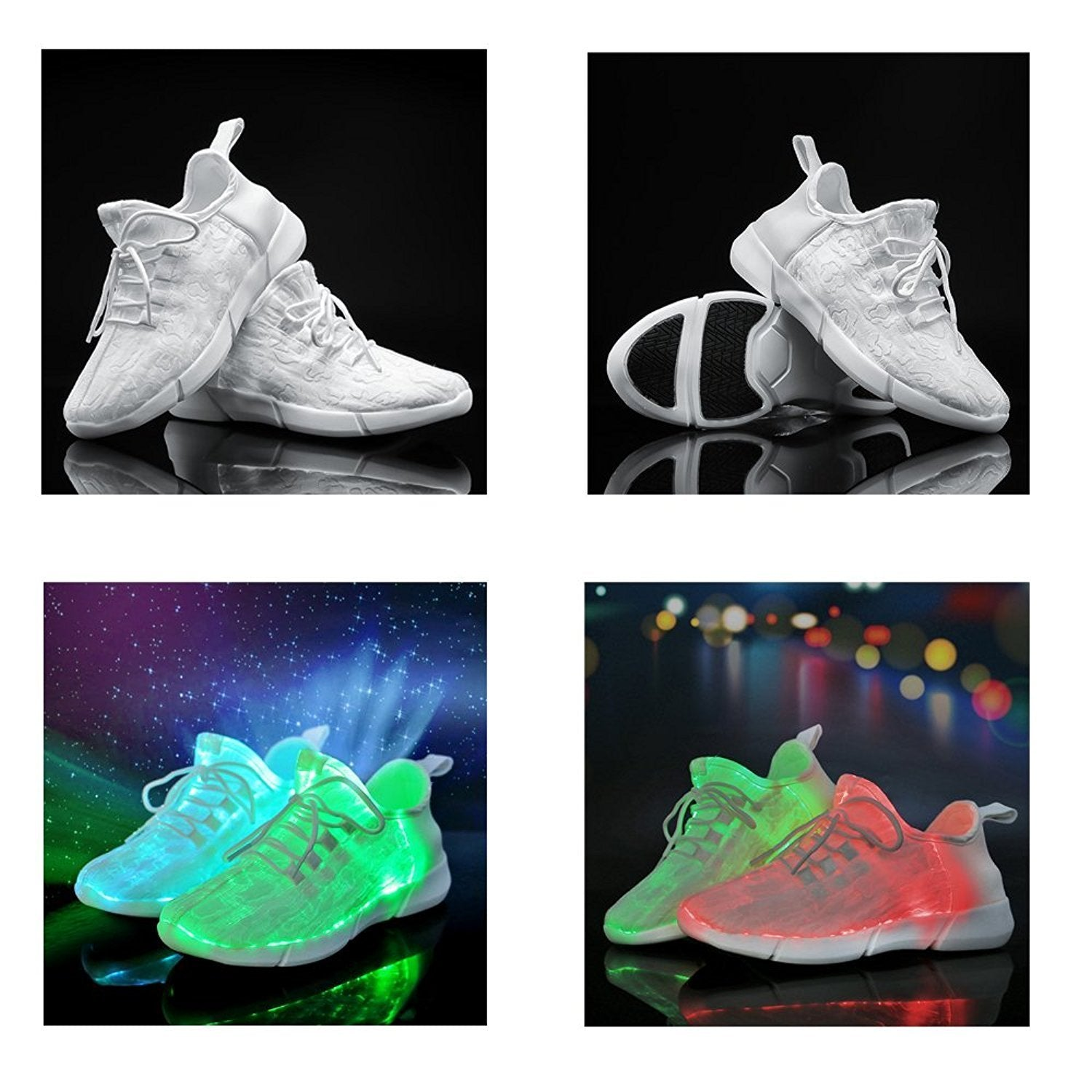 Kids LED Light Up Party Shoes - lytebright