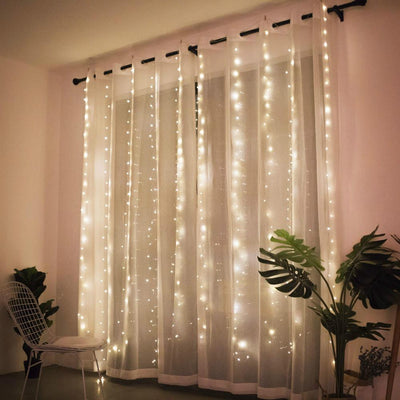 LED Curtain Decorative Lights with Remote Control. - lytebright