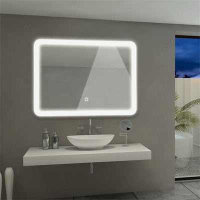 LED Wall Mounted Bathroom Touch Control Mirror - lytebright