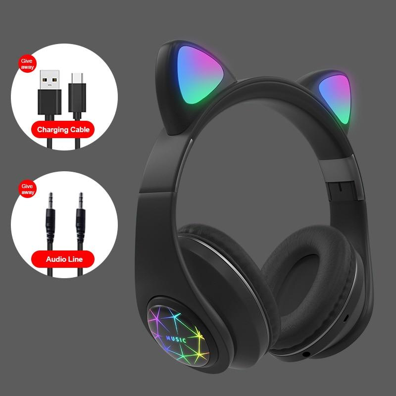 Light Up bluetooth Headphones - lytebright