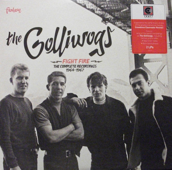 The Golliwogs - Fight Fire: The Complete Recordings 1964-1967