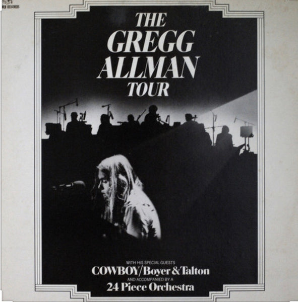 Gregg Allman With Cowboy (6) / Boyer* & Talton* - The Gregg Allman Tour