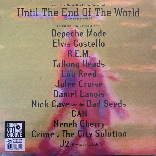 Various - Until The End Of The World (Music From The Motion Picture Soundtrack)
