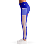 Women's Heart Broken Mesh Leggins