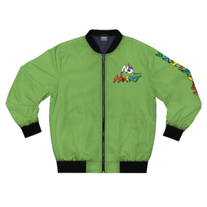 No Heart Bomber Jacket - Green