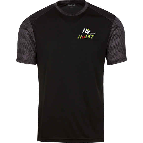 No Heart Camo Tee - Green