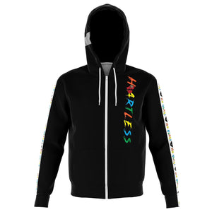 Heartless Strip Hoodie