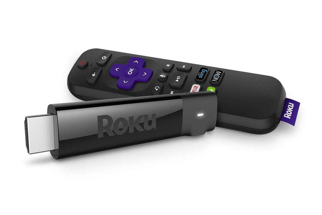 Long-range Wireless /& Voice Remote Roku Streaming Stick+HD//4K//HDR Streaming