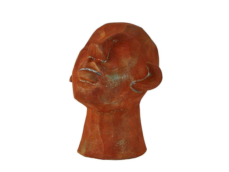 Face ornament INGRID cement 23 cm - svenlars