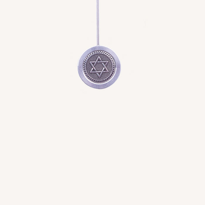 Custom-design Star of David Ring, Spring Rod