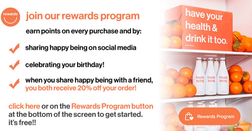 join our rewards program and earn points on every purchase and by sharing us on social media