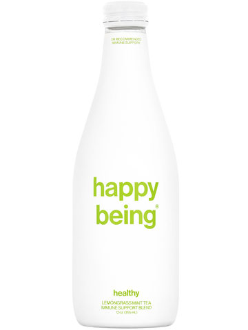 happy being healthy - lemongrass mint