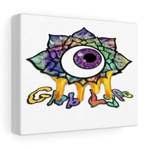 Globlfe print on canvas
