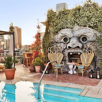 Rooftop Bar at Nomad Hotel