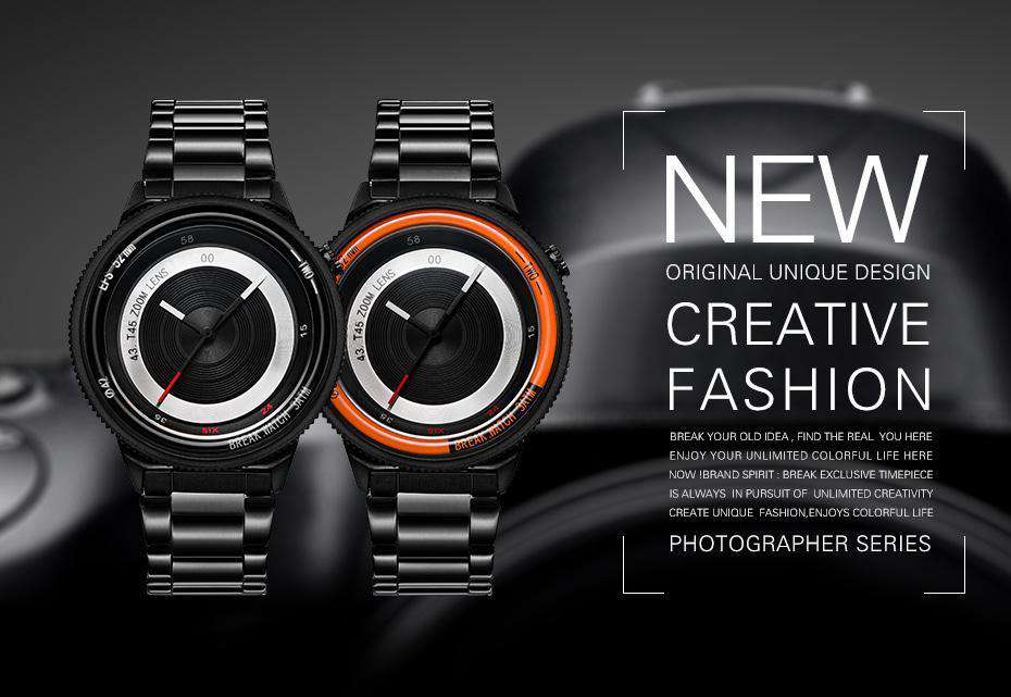 Photographer Luxury Watch
