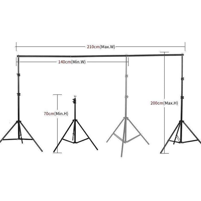 Photography Studio Support Stand Kit