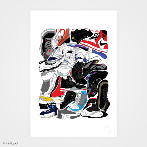 1-100 Red Whites limited edition prints