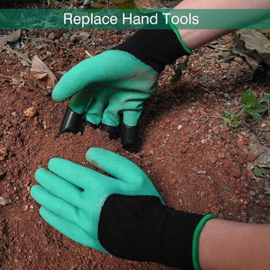 Green Thumb Garden Gloves