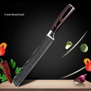 Stainless Steel Japanese Chef Knife Set