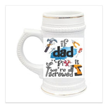 Load image into Gallery viewer, 16 oz. Glass Frosted Beer Mug