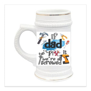 16 oz. Glass Frosted Beer Mug