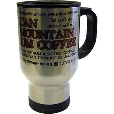 DyeTrans Sublimation Blank Stainless Steel Travel Mug - 14oz - Clear