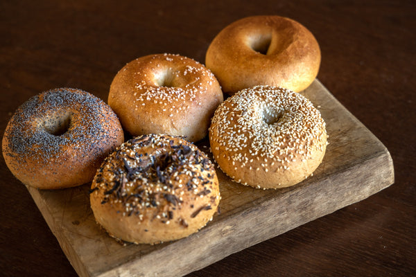 Assorted Bagels.