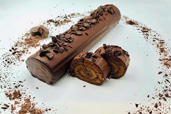 Chocolate Rolada (pareve)