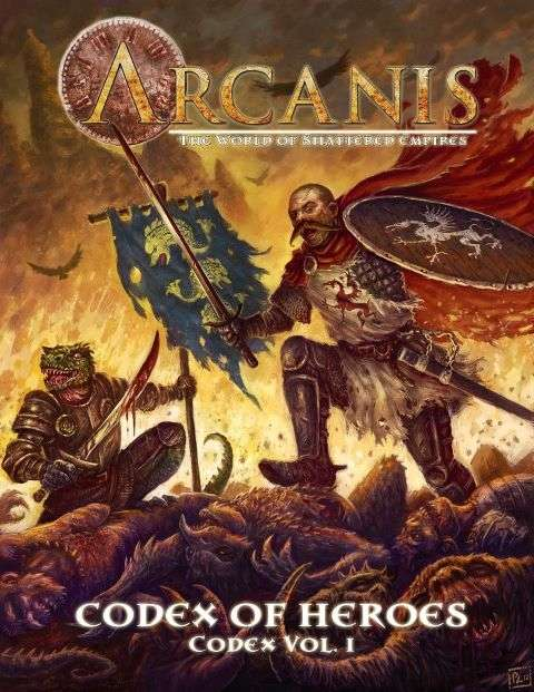Arcanis Codex of Heroes | L.A. Mood Comics and Games
