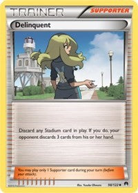 Delinquent (98) [XY - BREAKpoint] | LA Mood Comics and Games