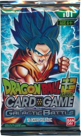 Dragon Ball Super: Galactic Battle Booster Pack | LA Mood Comics and Games
