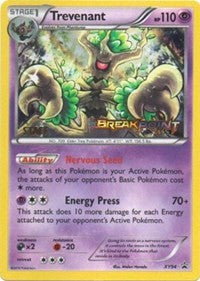 Trevenant (Staff Prerelease) (XY94) [XY Promos] | LA Mood Comics and Games